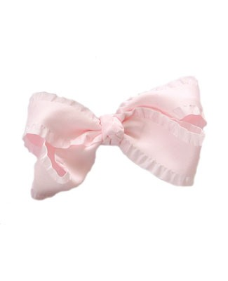 II: Wee Ones Large Ruffle Basic Bow *MANY COLORS*