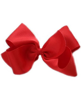 II: Wee Ones Grosgrain Basic Bow Clippie *MANY COLORS*