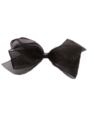 II: Wee Ones Organza Basic Bow *Many Colors!*