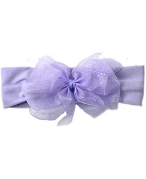II: Wee Ones Toddler Headwrap w/ Sheer Bow *MANY COLORS*