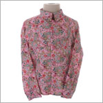 Room Seven Pink Floral Sporty Blouse