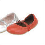Z: L'Amour RED Slip On Shoes with Beaded Strap