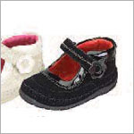 Z: L'Amour BLACK Baby High Top Mary Janes