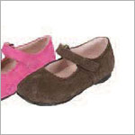 Z: L'Amour BROWN Plain Mary Janes