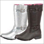 Z: L'Amour SILVER Side Buckle Boots