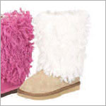 Z: L'Amour TAN Fur Boots