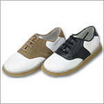Z: L'Amour WHITE/BLACK Saddle Shoe